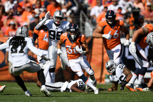 Denver Broncos vs. Oakland Raiders, NFL Week 2