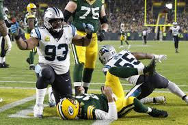 Image result for green bay carolina roughing passer
