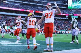 Image result for mecole hardman travis kelce tyreek hill